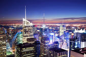 New Yorkban manhattan times square