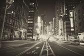 Manhattan bei Nacht