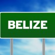thumbnail of Belize Highway Sign