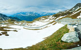 Alpok nyári panoráma