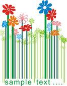 Vonalkód virág