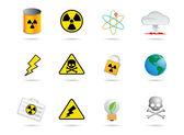A nukleáris energia ikon