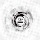 Abstract Techno Circle background Vector Eps 10