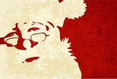 Santa Claus grunge background