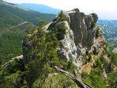 Rock. Crimea, Black sea, Ukraine