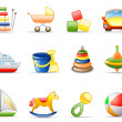 thumbnail of Toys icon set