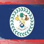 thumbnail of Grunge flag series-Belize
