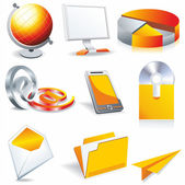 Web business & office icons