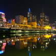 thumbnail of Melbourne at night