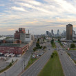 thumbnail of Panoramic view of the city of Montreal