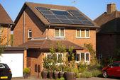 Solární panely na dům
