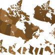 thumbnail of Canada world map