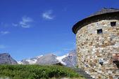Torony az Alpokban