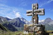 Kreuz in den Alpen