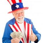 Постер, плакат: Uncle Sam Economic Recovery