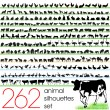 thumbnail of Animals silhouettes set of 262