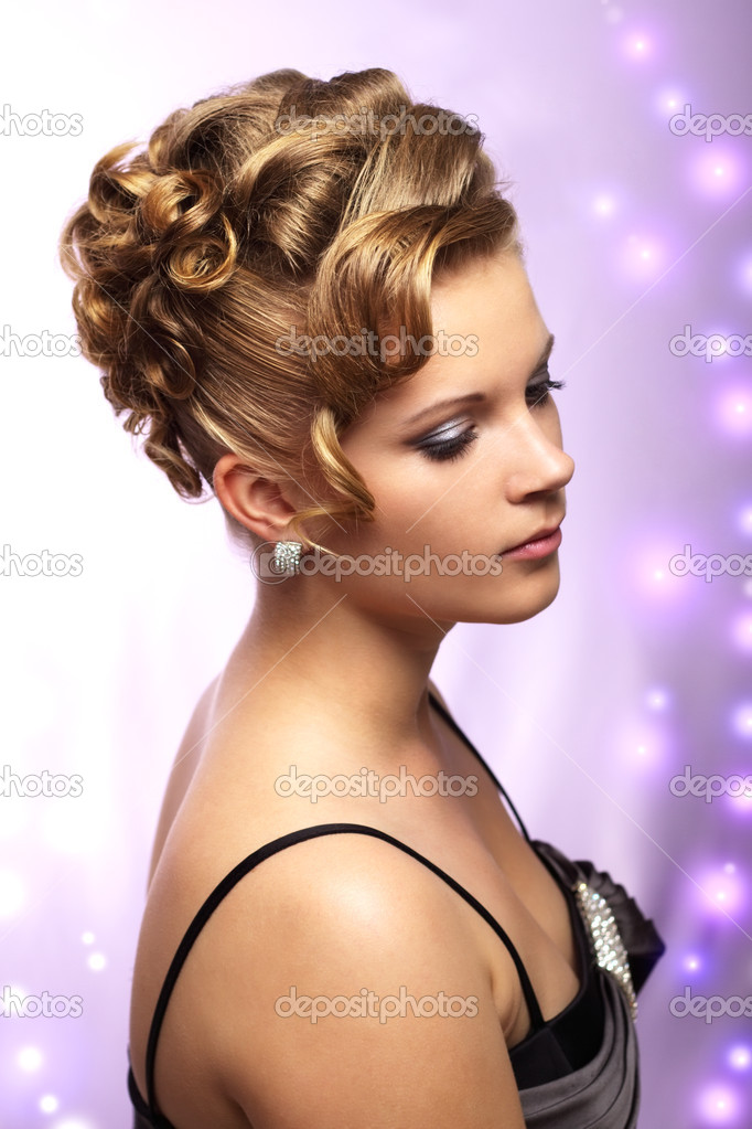 Peinado De Novia Modernos Fotos De Stock C Anmfoto 6080697