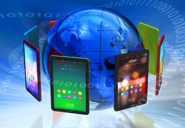 Global tablet PC boom concept