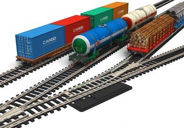 Miniature railroad models