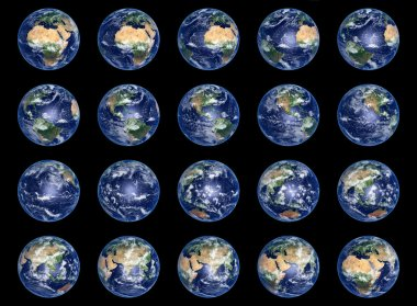 Earth Globes collection