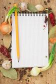 notebook receptek és fűszerek