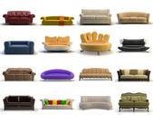3D-s kanapé