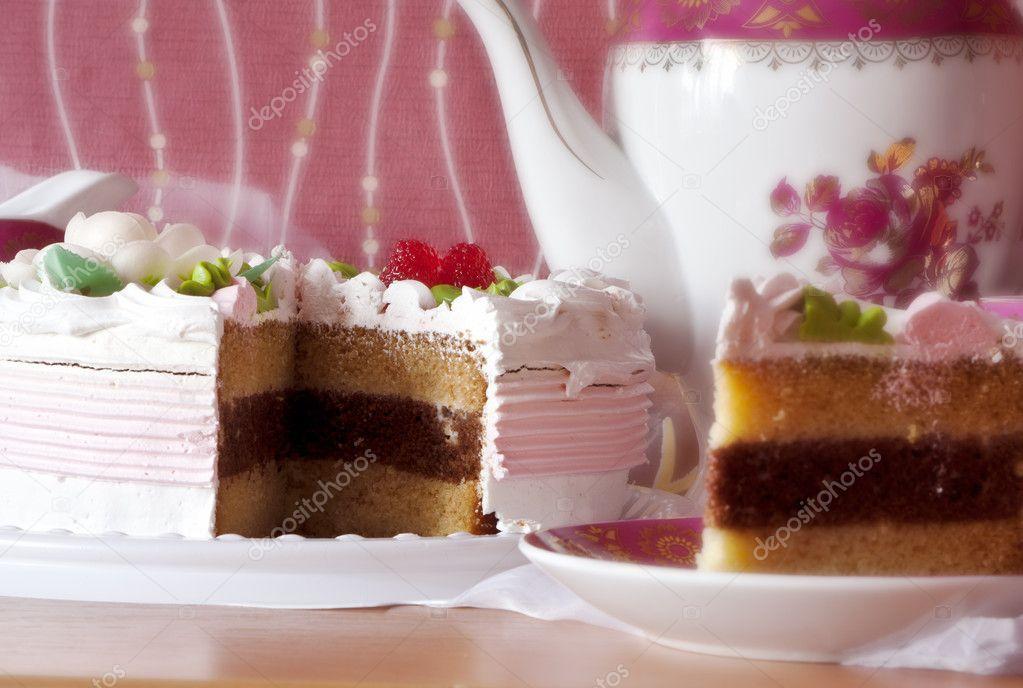 Schöne Kuchen U2014 Stockfoto