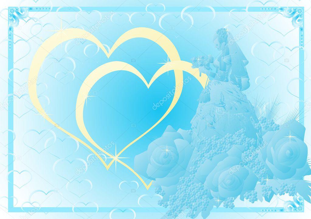 Wedding background blue insrenterprises wedding background blue junglespirit Images