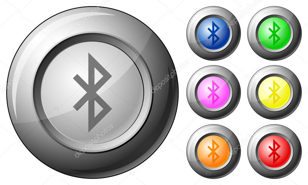 how to make bluetooth button