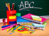 Photo Back to school supplies.