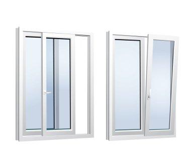 Plastics glasses doors