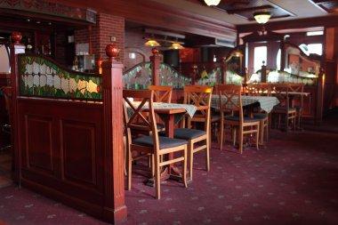 Interior of restaurant in Yerevan