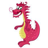 Červený drak karikatura