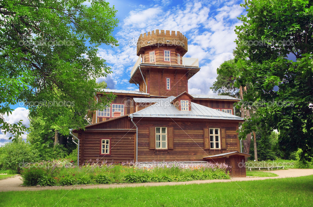 Country house of Russian artist Repin near Vitebsk