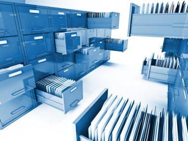 File cabinet 3d