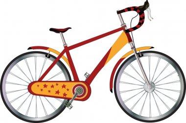 Tourist bicycle
