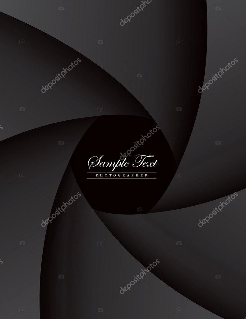 Dark style portfolio