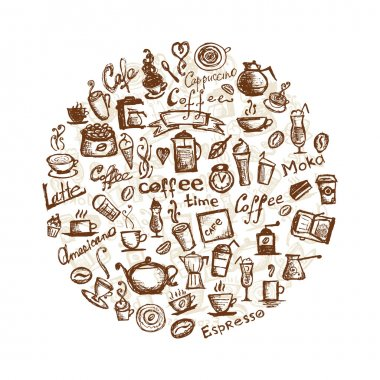 Coffee time, design elements