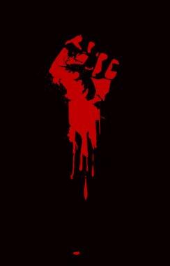 Fist held