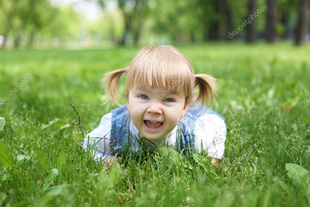 happy little girl - HD1920×1280