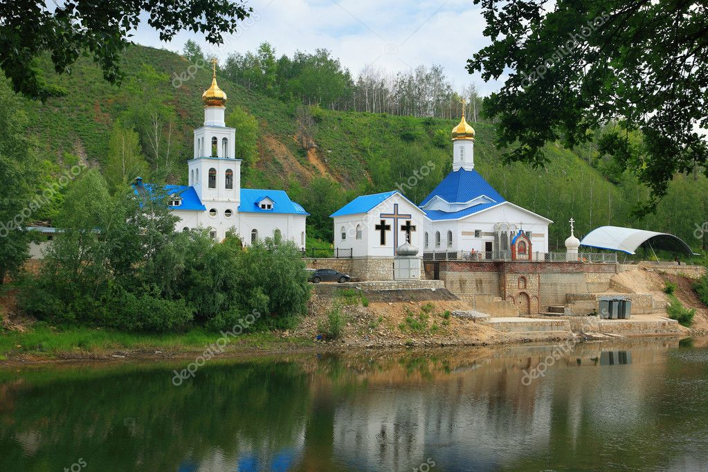 Chapel near to Tsar barrow, Samara