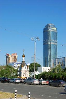 Ekaterinburg cityscape