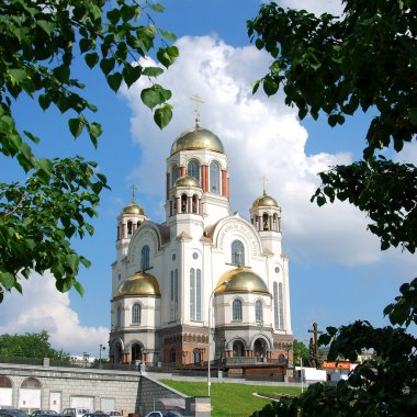 The Church on the Blood (Church of All Saints) in Ekaterinburg,