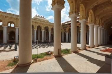 Tirumalai Nayak Palace. Madurai, Tamil Nadu, India