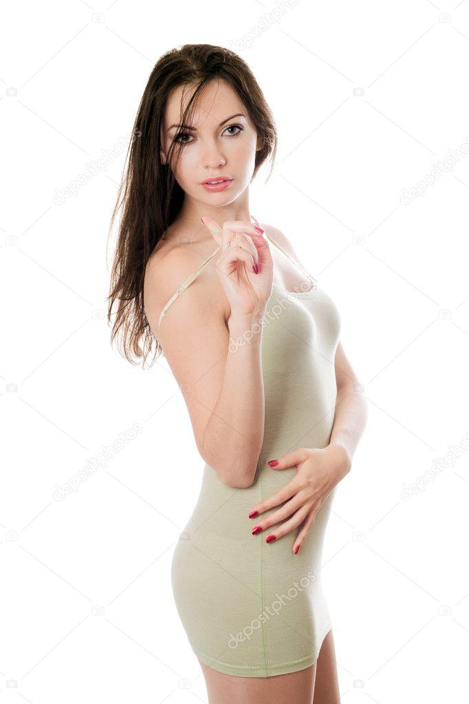 ссексуальная девушка в обтяжку