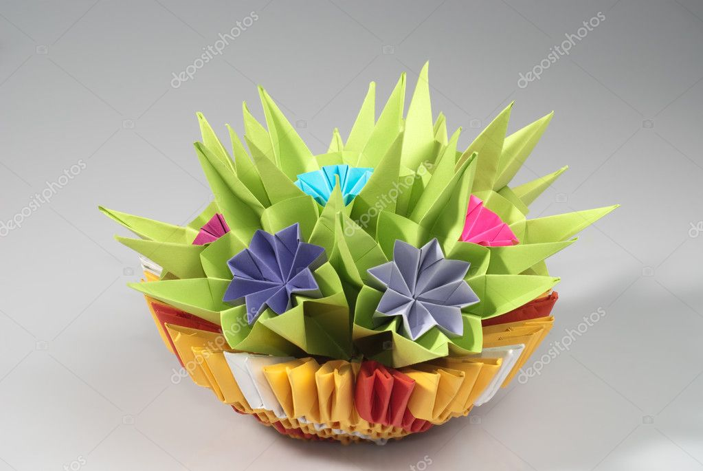 Origami Bos Stockfoto Oksixx 6254318