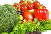 friss, lédús zöldséget elszigetelt