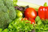 čerstvé a šťavnaté zeleniny, samostatný
