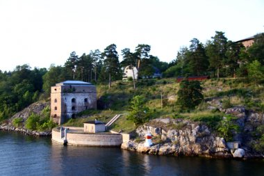 Lonely island in Sweden Archipelago