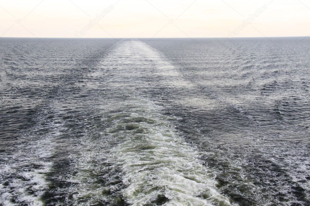 Wave on the Baltic sea near Sweden